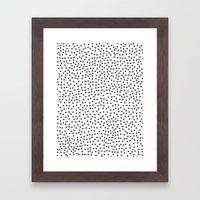 Dots.. Framed Art Print