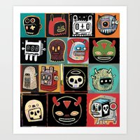 Headhunter outlanders  Art Print