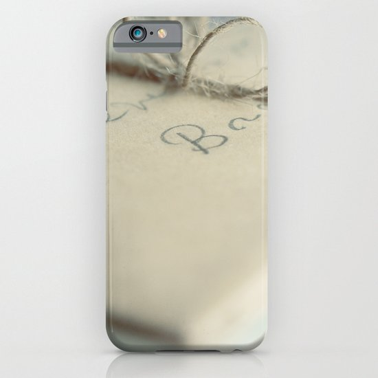 Letters To You iPhone & iPod Case