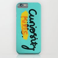 iPhone & iPod Case featuring Curiosity Kills by eugeniaclara