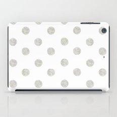 Grey Dots iPad Case