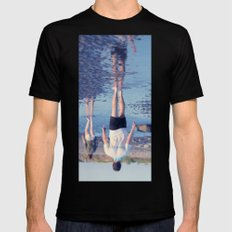 Reflection Mens Fitted Tee Black SMALL