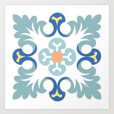 Floor tile 5 Art Print