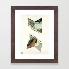 Storm on the Island Framed Art Print
