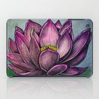 Lotus Flower iPad Case