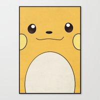 Raichu - Pikachu's Evolu… Canvas Print