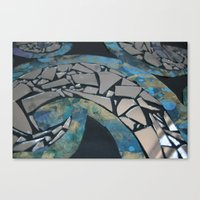 REFLECTIVE RYTHM Canvas Print
