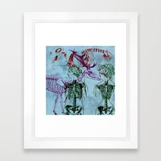 Our Young Bones Framed Art Print