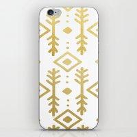 GOLD NORDIC iPhone & iPod Skin