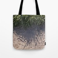 The Grass and it's Shadow Tote Bag