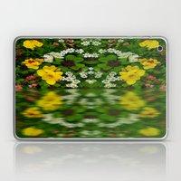 Summer Flowers Reflect Laptop & iPad Skin
