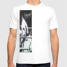 The Rumble Mens Fitted Tee SMALL White