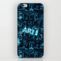 Art iPhone & iPod Skin