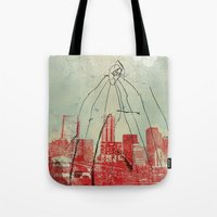 War Of The Worlds Tote Bag