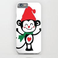Little Monkey Santa Clau… iPhone 6 Slim Case