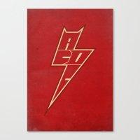 AC/DC ARROW Canvas Print
