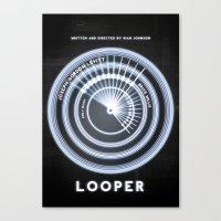 LOOPER Canvas Print