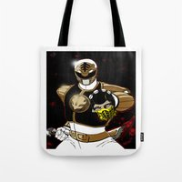 White Ranger Vs. Scorpio… Tote Bag