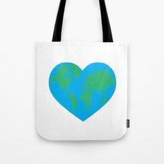 Earth Love Tote Bag