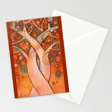 whimsy tree Stationery Cards