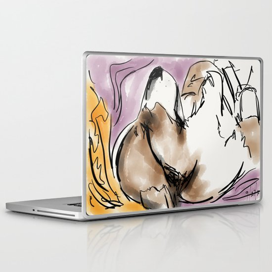 Corgi 3 Laptop & iPad Skin