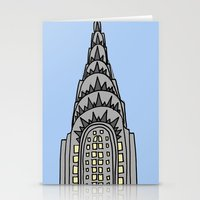 The Chrysler Building Wo… Stationery Cards