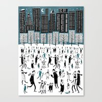 New York Skate of Mind Canvas Print