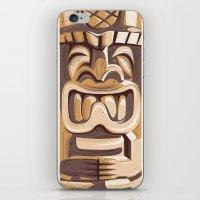 Happy Tiki iPhone & iPod Skin