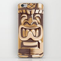 Happy Tiki iPhone & iPod Skin