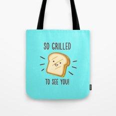 Cheesy Greetings! Tote Bag