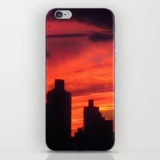 City Sunset iPhone & iPod Skin