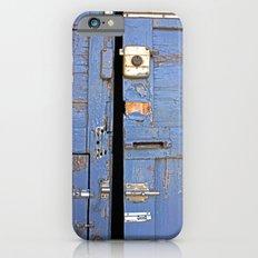 Vintage door iPhone 6 Slim Case