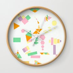 Juxtapose Wall Clock