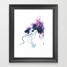 [I NEED SPACE] Framed Art Print