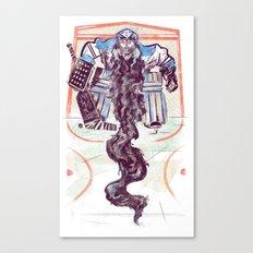 Playoff Beards Canvas Print