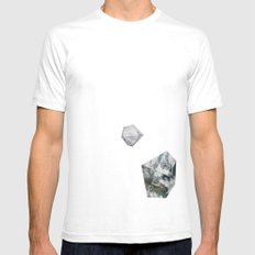 Alaska from above Mens Fitted Tee White SMALL