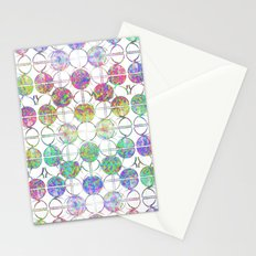 Refraction Tiles Stationery Cards