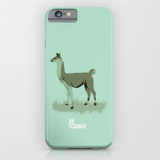 4-legged Exotica Series: Llama iPhone & iPod Case