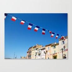 St. Tropez, Côte d'Azur French Riviera Canvas Print