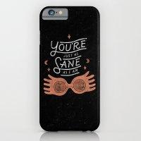 iPhone & iPod Case featuring Sane by WEAREYAWN