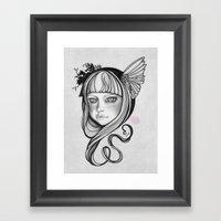 Skågsrå I Framed Art Print