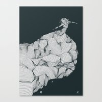 Come To Nothing Canvas Print