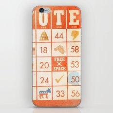 The Bingo Vote iPhone & iPod Skin