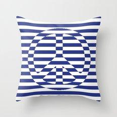 Sailor PEACE Throw Pillow