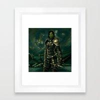 Skyrim - Shro-gan vampire hunter Framed Art Print