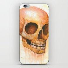 deaths grinning head iPhone & iPod Skin