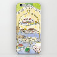 high tea party iPhone & iPod Skin