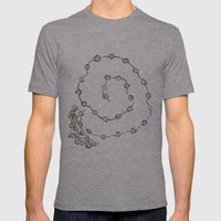 Dancing People Mens Fitted Tee Athletic Grey SMALL