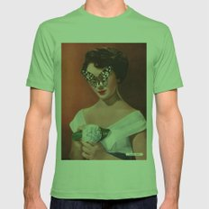 ELIZABETH TAYLOR.  (PIN-UPS). Mens Fitted Tee Grass SMALL