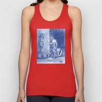 Victor and Nora, Mr. Freeze's Heart of Ice Unisex Tank Top